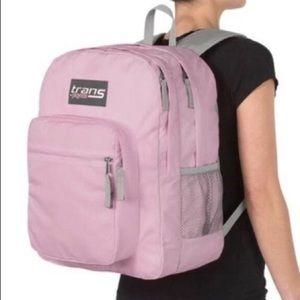 Jansport pink backpack computer laptop bag